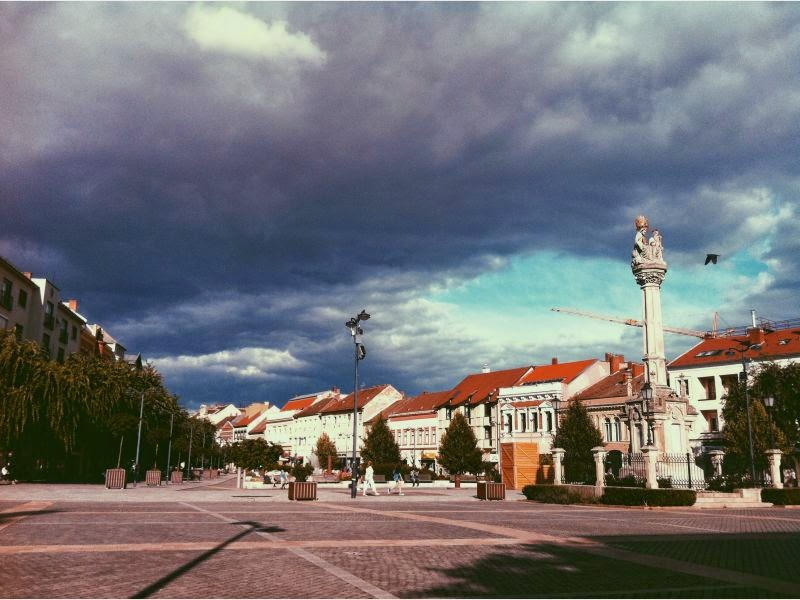 """""""Kilyukadt"""" az ég Szombathely felett - fotók!"""