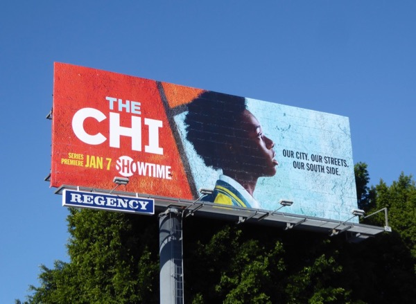 Chi series premiere billboard