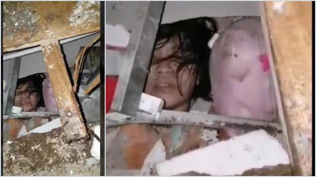 Pilu, Anak Perempuan Korban Gempa Mamuju Ini Tertimbun dan Minta Tolong