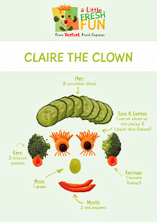 A Little Fresh Fun with the Tefal Fresh Express Claire Clown Downloadable Templates