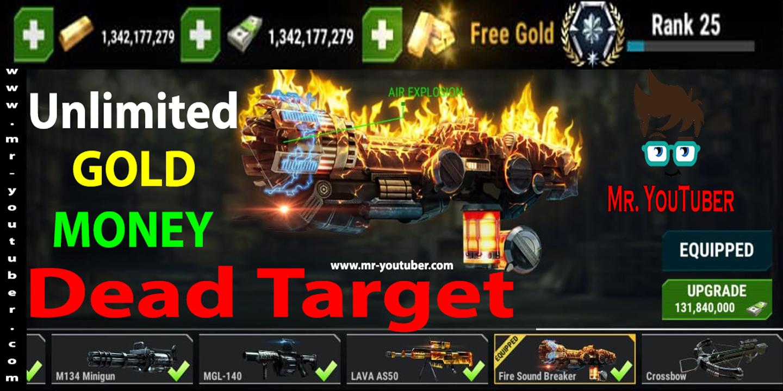 تحميل لعبة dead target مهكرة احدث اصدار