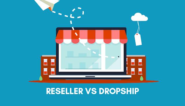 Perbedaan bisnis reseller dengan dropship