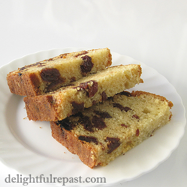 Cherry Almond Tea Loaf / www.delightfulrepast.com