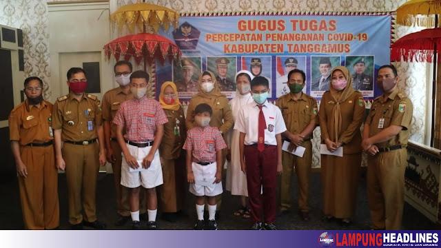 Tanggamus Wakili Lampung Lomba FLS2N Dan KSN Ditingkat Nasional, Bunda Dewi Apresiasi