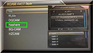 احدث سوفت وير SUPER GOLD SG-666  يدعم سيرفر Nashare  والقنوات الصوتية