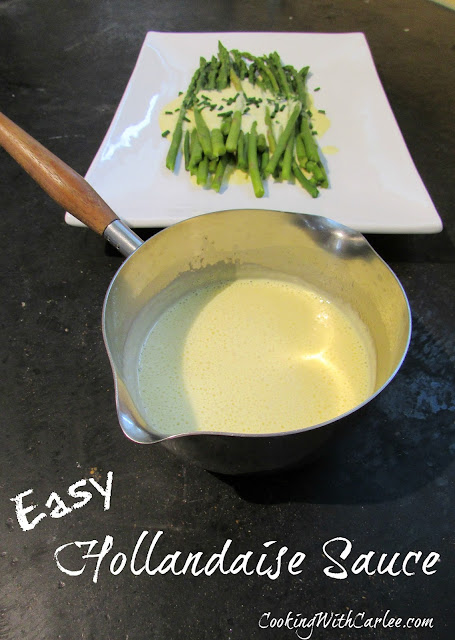 how to make a simple hollandaise sauce