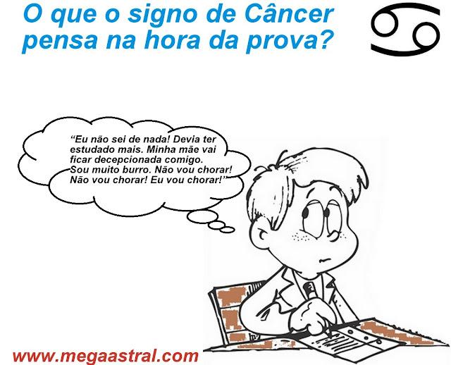 cancer na prova