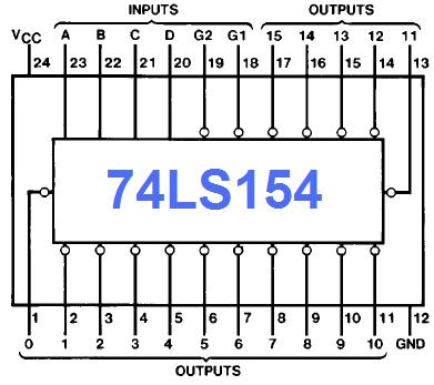 74154_pinout Or Gate Ic Datasheet Pdf on 64f3039f, flip flop,