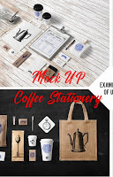 Use Branding Mock-Up for Coffee Stationery