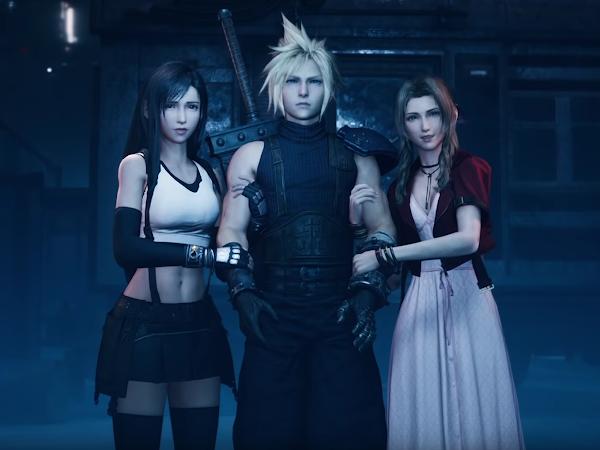 Vierailemassa Kombocastissa, aiheena Final Fantasy VII