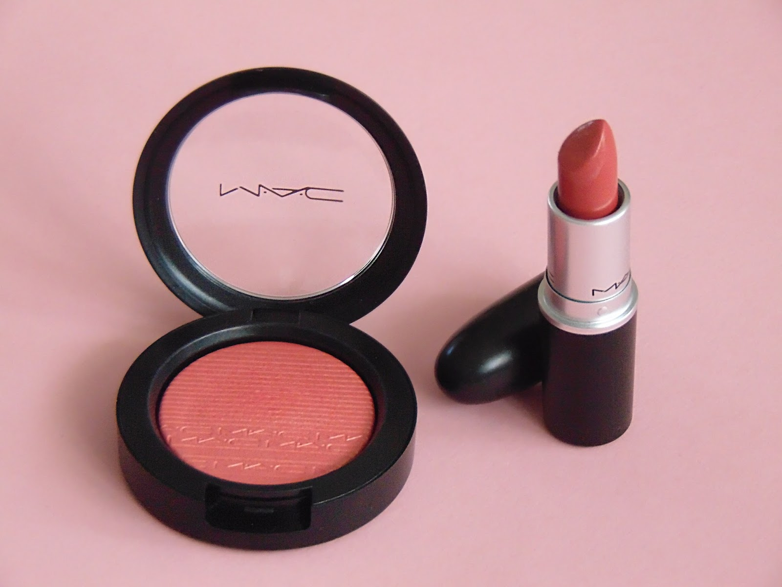 mac extra dimension blush cheeky bits lipstick see cheer