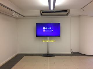 noleggio monitor museo Ieros