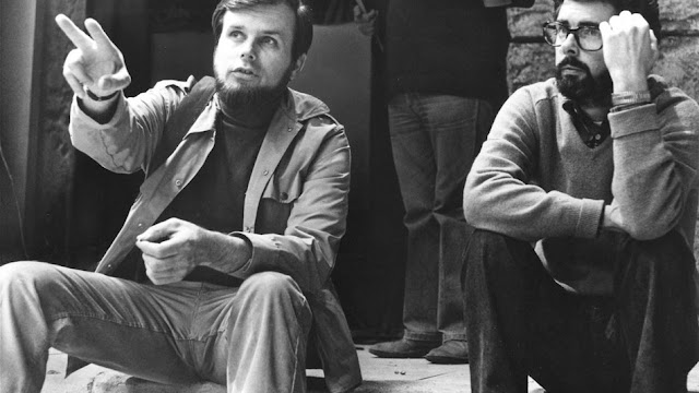 Gary Kurtz with george lucas