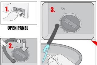 كيفية تنظيف فلتر الطلمبة