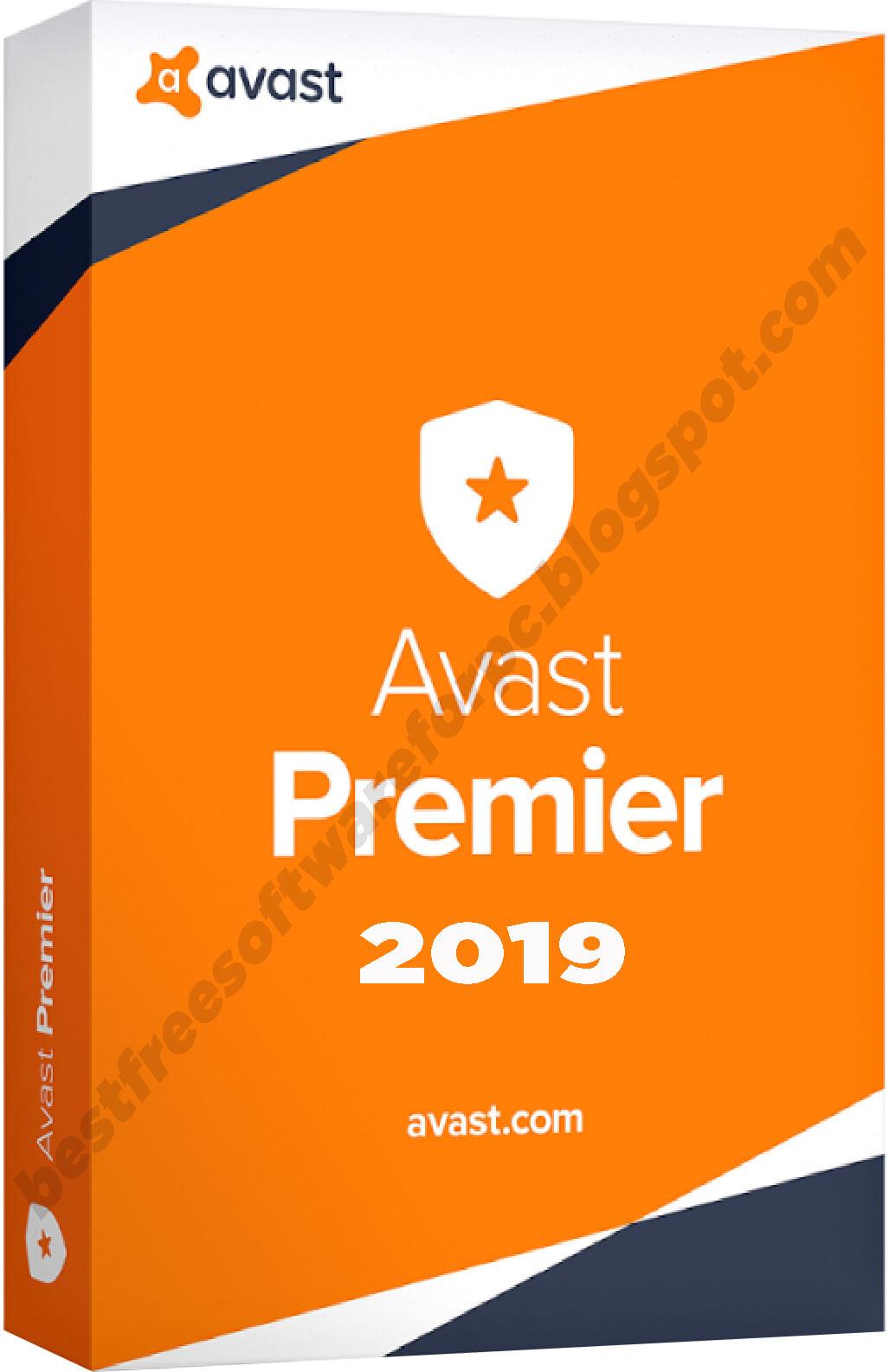 Avast Premier Antivirus 2019 serial number
