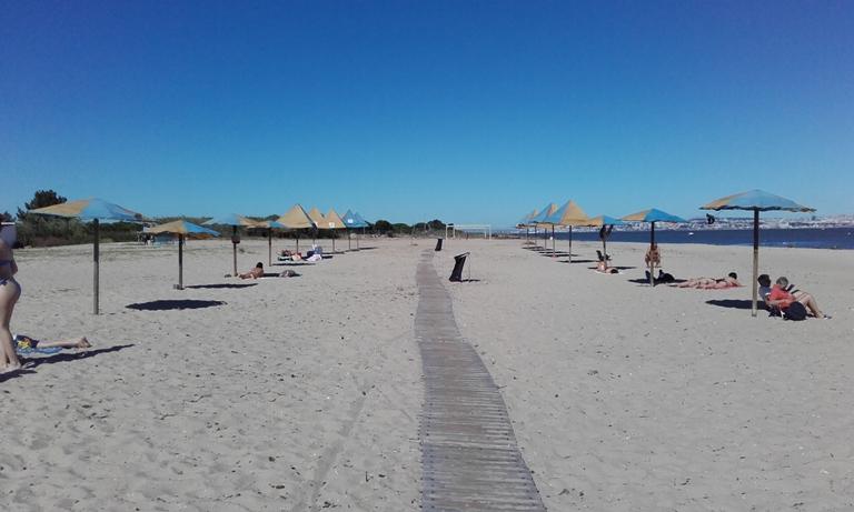 Areal Praia Samouco