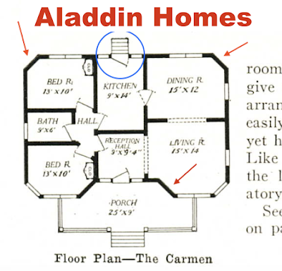 Aladdin Carman floor plan