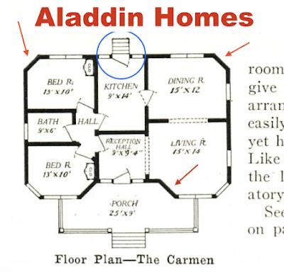 Aladdin Carman floor plan