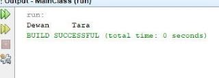 Contoh String yang diFormat Java 3
