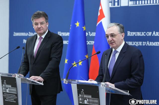 Eslovaquia abre embajada en Armenia