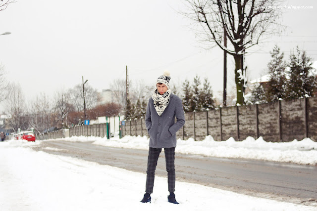 zimowy look