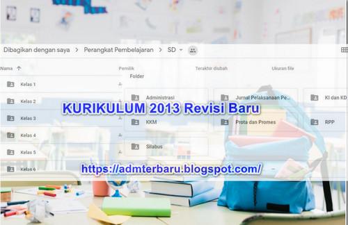 File Pendidikan RPP Kurikulum 2013 Revisi 2019 SD Semua Kelas 1-6