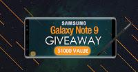Castiga un Galaxy Note 9