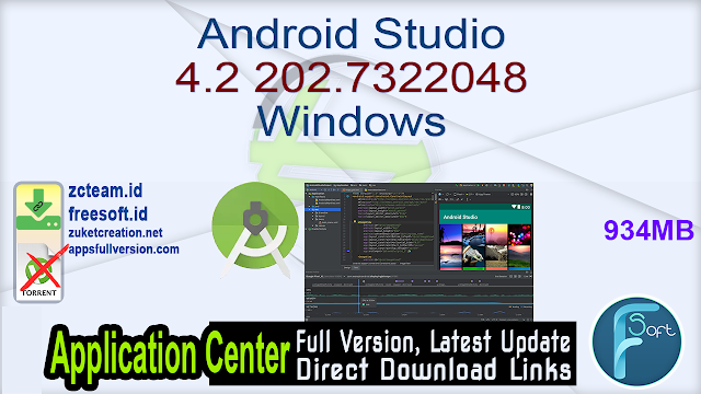 Android Studio 4.2 202.7322048 Windows_ ZcTeam.id