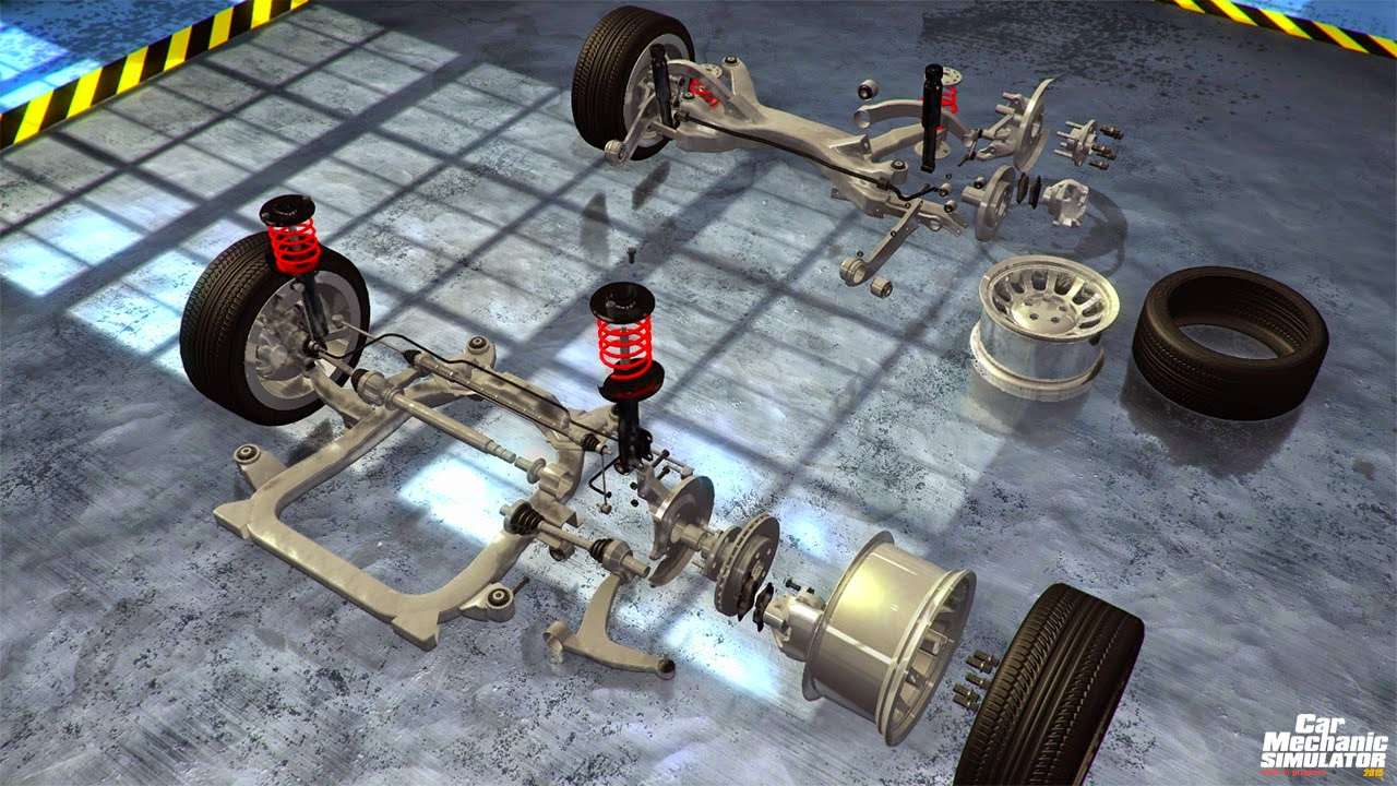 juego Car Mechanic Simulator full