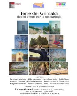 Terre dei Grimaldi, dodici artisti sostengono un progetto di solidarietà