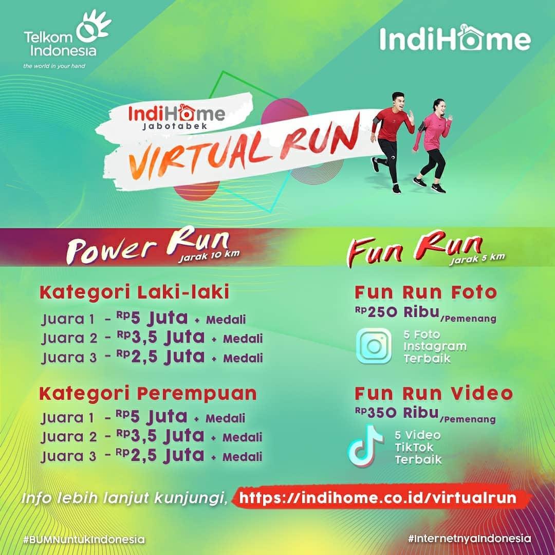 IndiHome Jabotabek Virtual Run • 2021