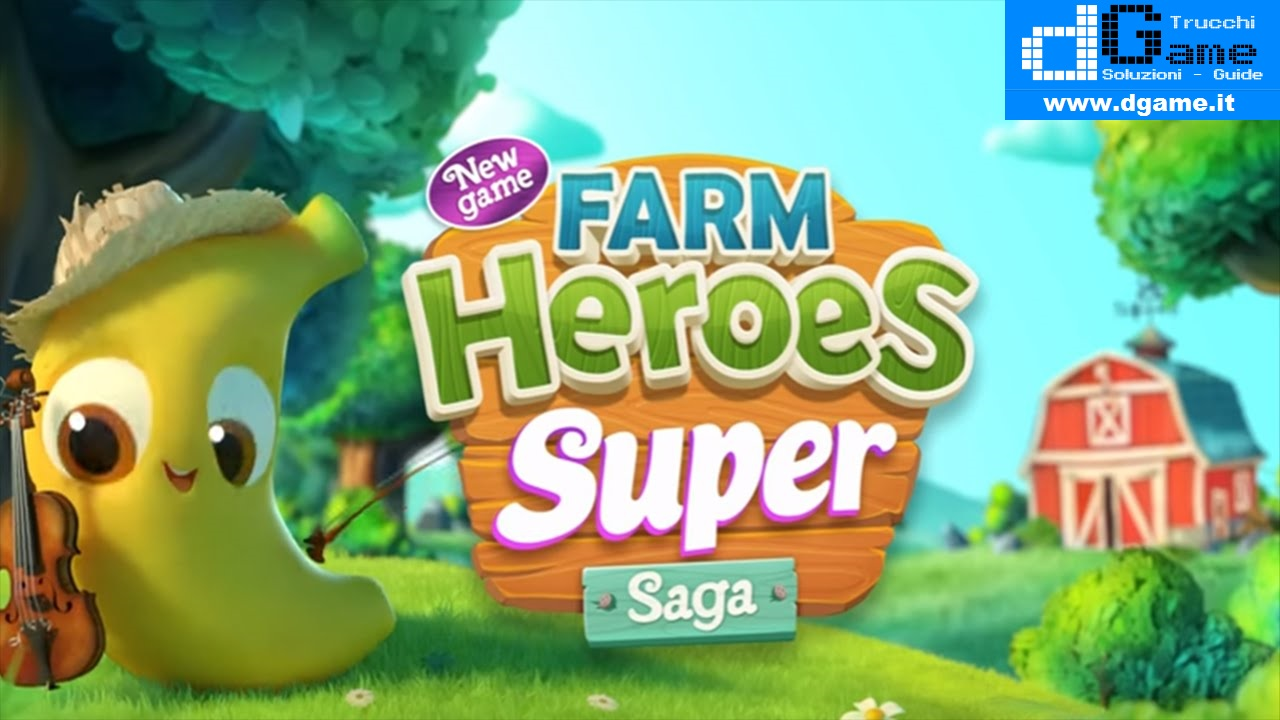 Soluzioni Farm Heroes Super Saga di tutti i livelli