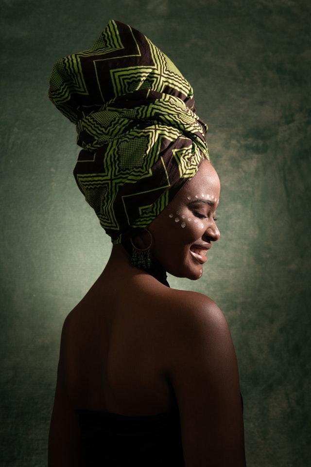 afrikalı kadın