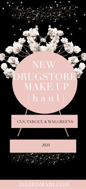 New Drugstore Make Up   CVS, Target, and Walgreens