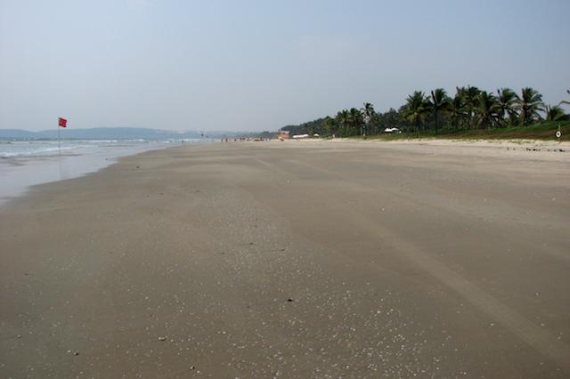 Arossim Beach, Goa, Intia