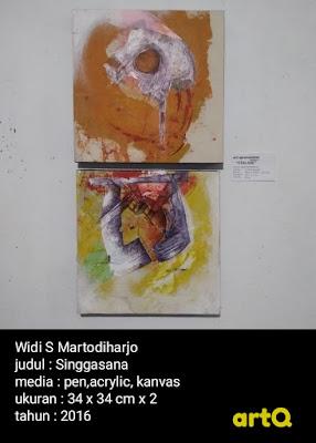 Singgasana karya Widi S Martodiharjo