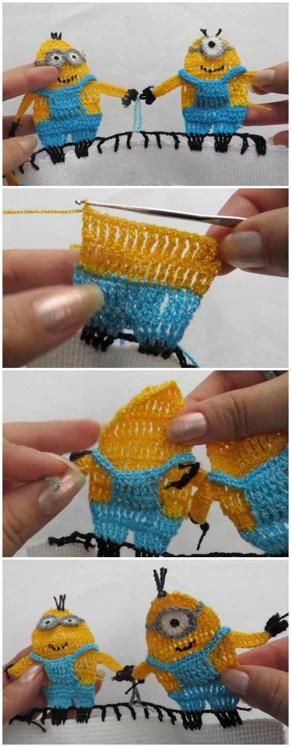 Crochet Minions Edging