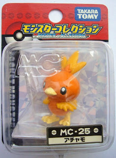Torchic figure Takara Tomy Monster Collection MC series