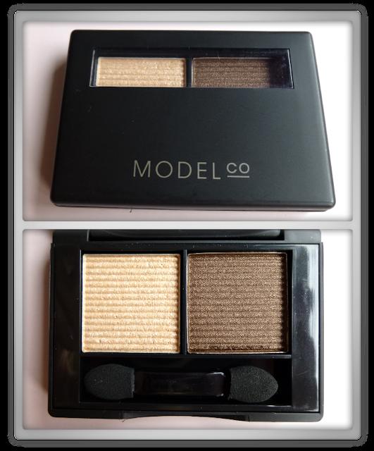 Modelco eyeshadow duo bronzed goddess Sunkissed augustus Glossybox 2013