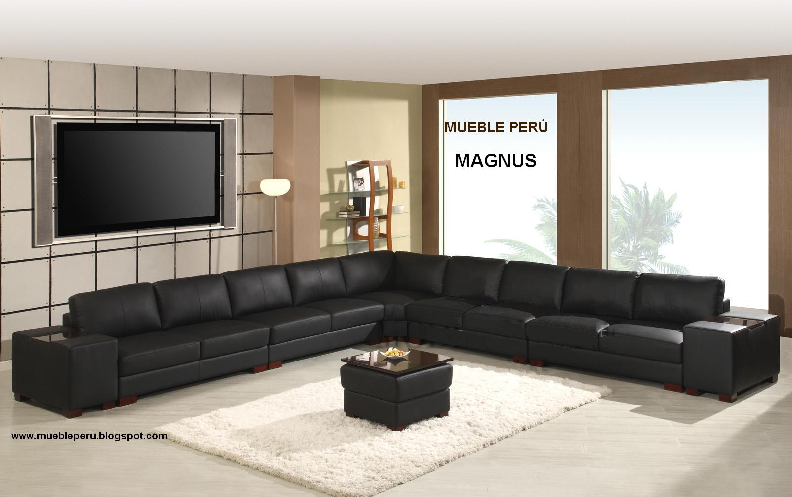 Muebles pegaso modernos muebles de sala seccionales for Muebles sala