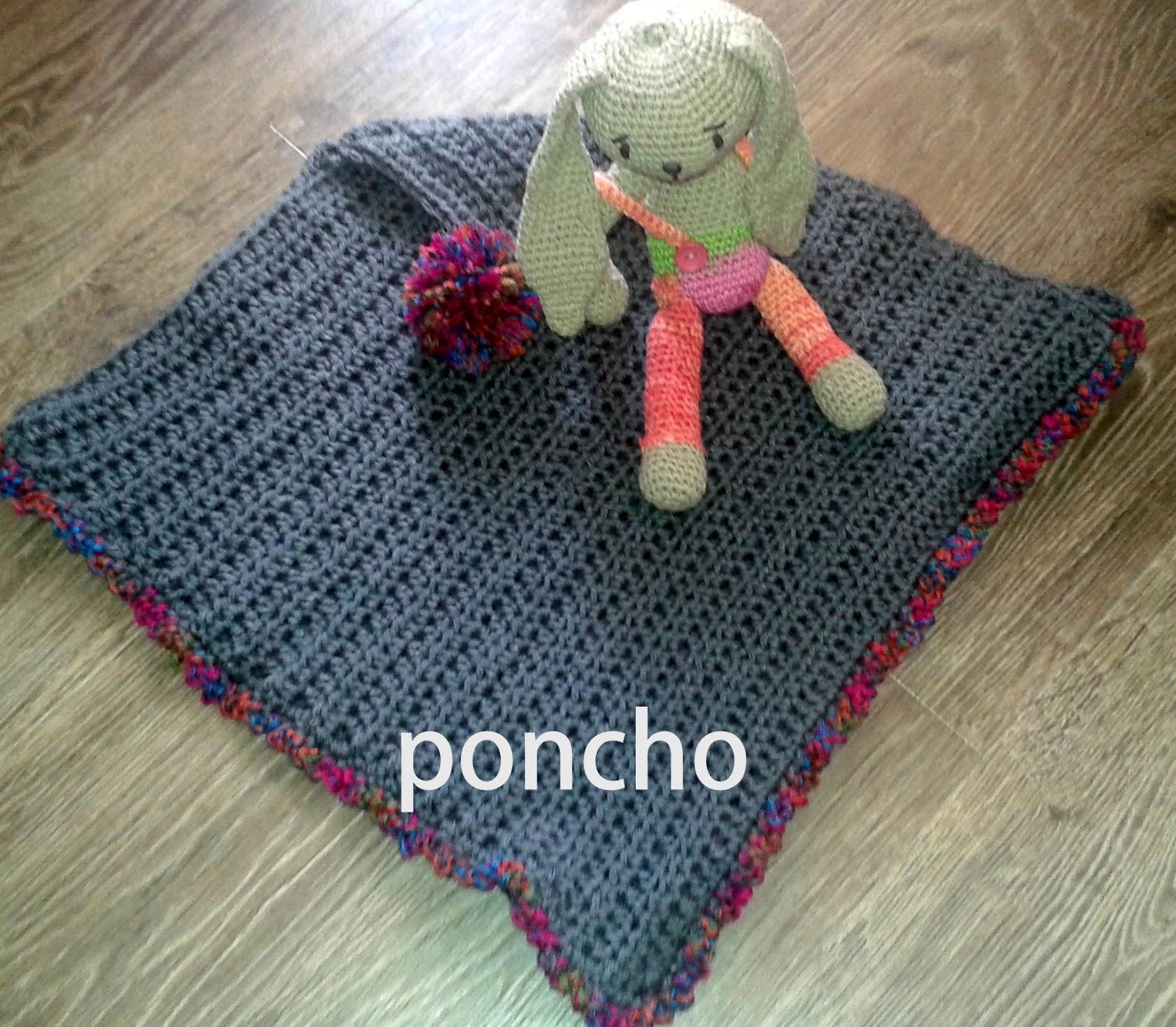 De verdad crochet: Poncho de ganchillo paso a paso para principiantes