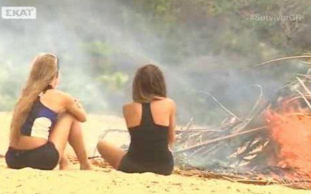 Σε βίντεο του Σειρηνάκη παίχτρια του #SurvivorGR