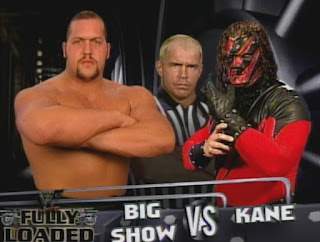 WWE / WWF Fully Loaded 1999 - Big Show vs. Kane w/  referee Hardcore Holly