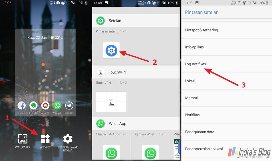 Cara Melihat Riwayat Notifikasi di Android