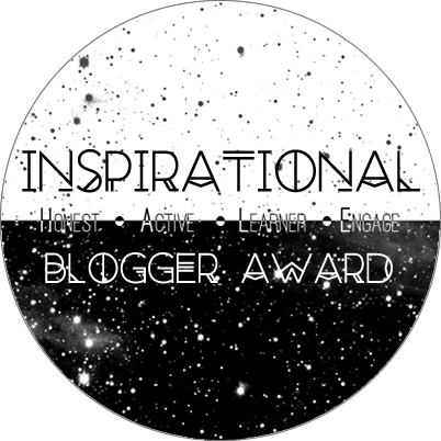 The Inspirational Blogger Award - Blog Anniversary Special