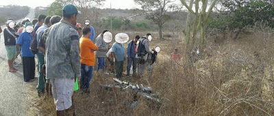 Acidente deixa vítima fatal na BR que liga Cuité à Nova Floresta