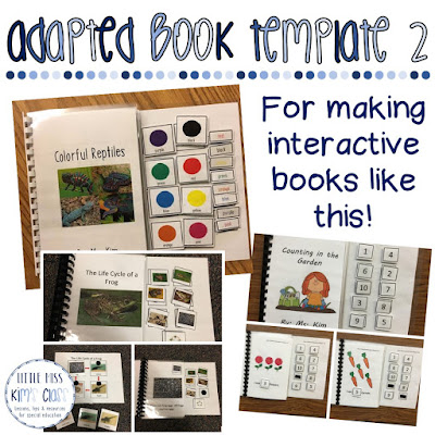 Adapted Book Templates for Special Education