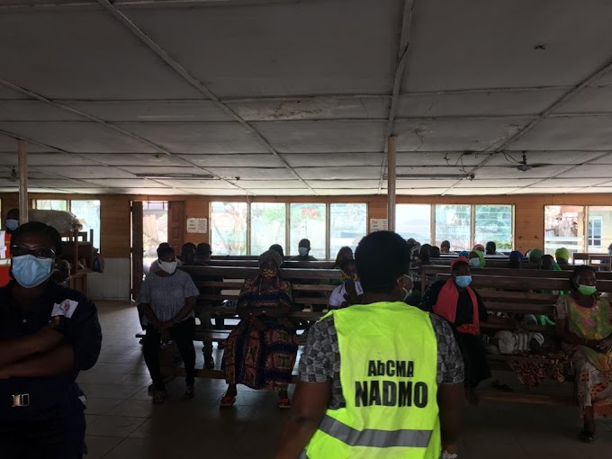 NADMO Ablekuma Central Municipal Assembly (ABCMA) hold 3 days Sensitization Exercise on preventive measures of Covid 19