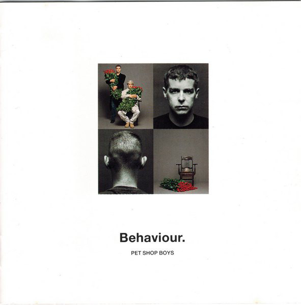 Encarte: Pet Shop Boys - Behaviour.