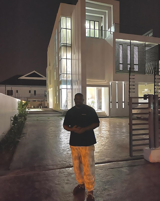 Nigeria music producer Don Jazzy Acquires A New House